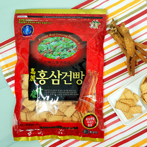 고려홍삼건빵 430g, Korean Red Ginseng Hard Tack 430g
