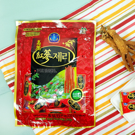 고려홍삼제리(젤리) 350g, Korean Red Ginseng jelly 350g