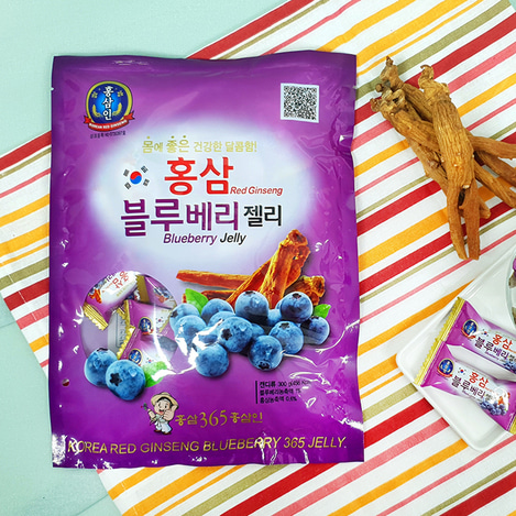 고려홍삼 블루베리제리(젤리) 300g, Korean Red Ginseng blueberry jelly 300g