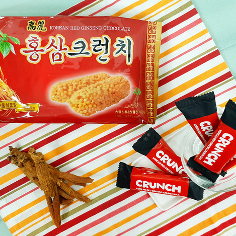 고려홍삼 크런치 180g, Korean Red Ginseng crunch 180g