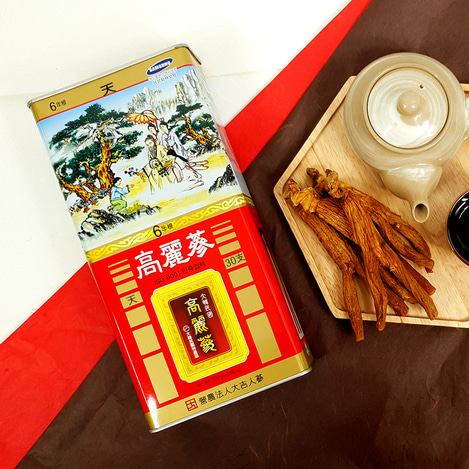[천삼] 6년근 고려홍삼 30지 300g, [Heaven Grade Ginseng] 6-year-old Korean Red Ginseng  30 pieces 300g