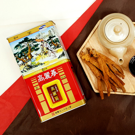 [천삼] 6년근 고려홍삼 30지 150g, [Heaven Grade Ginseng] 6-year-old Korean Red Ginseng  30 pieces 150g