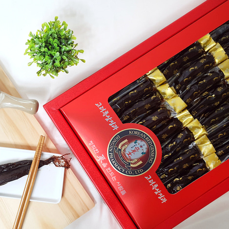 고려흑삼정과 골드 1000, Honey-marinated Korean Black Ginseng Gold 1000