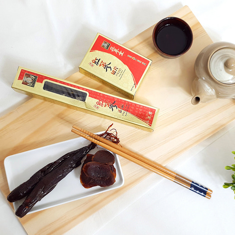 고려홍삼절편정과 세트 16P, Honey-marinated Honey sliced Korean Red Ginseng Set 16P