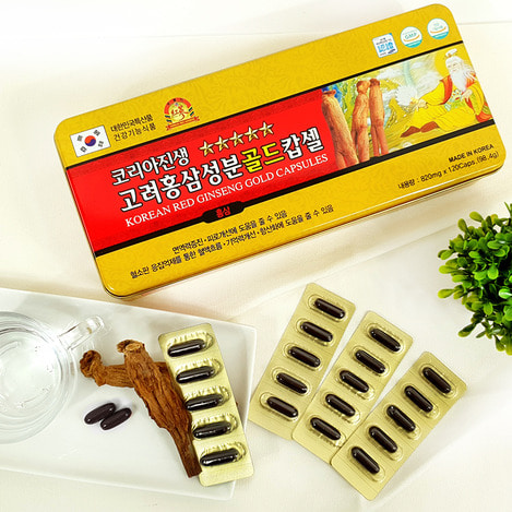 고려홍삼캅셀 120 (캡슐, 알약), Korean Red Ginseng capsule 120 (capsule, tablet)